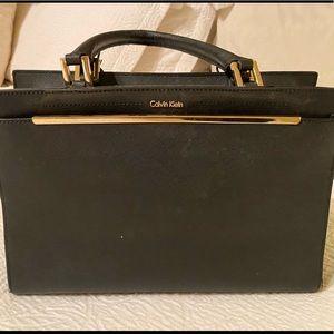 ‼️ SALE Classic CALVIN KLEIN Black Satchel Handbag